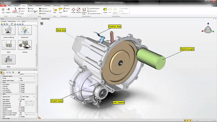 solidworks composer screenshot