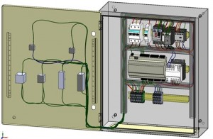 electrical 3d cabinet