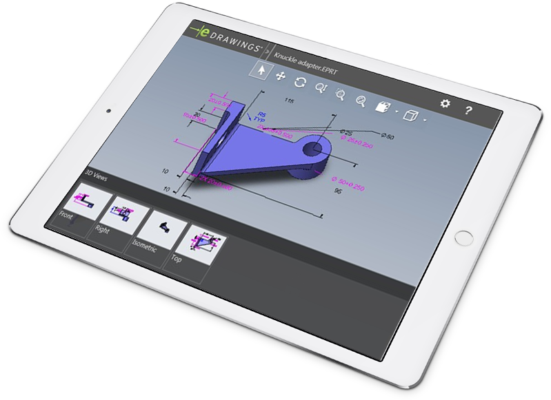 tablet solidworks mbd