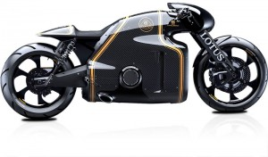 visualization of motorcycle