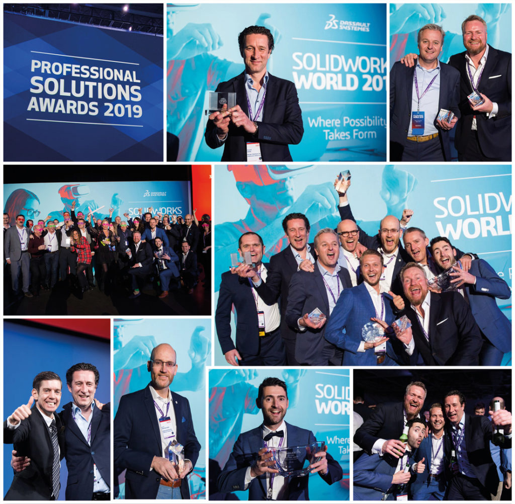 solidworks world design solutions award